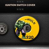 Cover Zündschlossabdeckung Porsche 911 Ignition switch cover decal, Porsche 911 (1964 – 1997) (Motiv, Farbe ,Text und Bild frei wählbar!)
