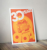 Poster: 30 Years of Porsche 911 964
