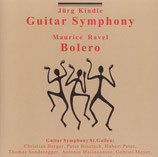Jürg Kindle Guitar Symphony / Bolero CD (physical)