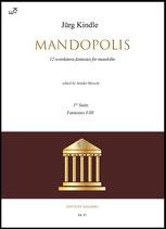 Mandopolis 1st Book, Ares, Aphrodite, Hermes