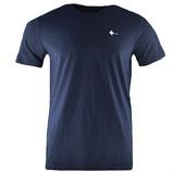 honourebel Men's BRAND RAY T-shirt DeepSeaNavy/White