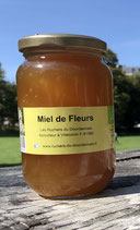 Miel de Fleurs Bio - 500 g.