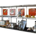Metal mobiliario transparencia