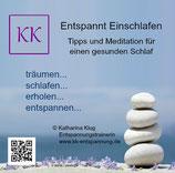 Audio CD erholsames Schlafen (mit Meditation)