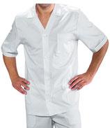 Camice Corto Uomo Bianco