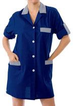 Camice Moda Blu/Bianco a Righe