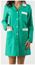 Camice Donna Verde/Bianco