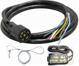7-Way Trailer Cable with Breakaway Switch Combo