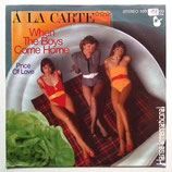 A La Carte - The Price Of Love