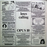 Opus 10 - Loves Calling