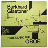 Burkhard Glaetzner – Neue Musik Für Oboe