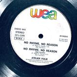 Atelier Folie - No Rhyme No Reason