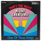 Night Creatures - That's The Night