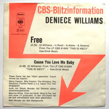 Deniece Williams - Free / Cause You Love Me Baby