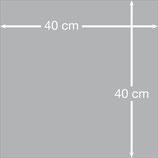 Aludibondplatte 40 cm x 40 cm