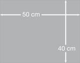 Aludibondplatte 50 cm x 40 cm