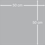 Aludibondplatte 50 cm x 50 cm