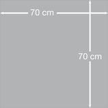Keilrahmen 70 cm x 70 cm