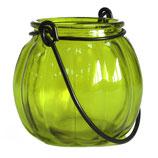 Lanterne citrouille verte