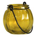Lanterne citrouille jaune