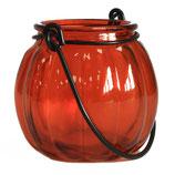 Lanterne  citrouille orange