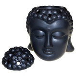 Tête de Bouddha noir