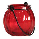 Lanterne citrouille rouge