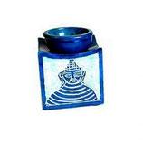 Porte cône bouddha bleu