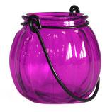Lanterne citrouille  violette