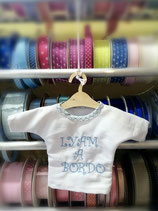 Mini t-shirt ricamo