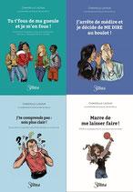 Belgique : Collection des 4 livres aux Editions Sweetch, envoyés par la poste