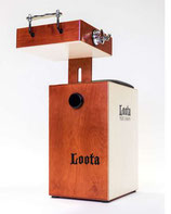 LOOTA Percussion Cajon-Set Wild Cherry