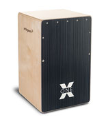 SCHLAGWERK Cajon CP160 X-One Hard Coal Stripes