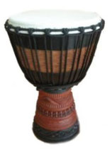 MONKY5 Djembe 60er Full Carving