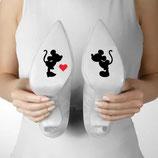 Disney Schuhsticker Micky & Mnnie