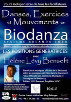 "1 DVD - Danses, Exercices et Mouvements en Biodanza - Vol. 4   ""Système Rolando Toro"""