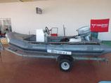 中古艇 アキレスSR-156  トレーラー船外機セット