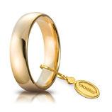 Fede Unoaerre  Comoda 5,0 mm Oro giallo da gr 7,0 a 8,7 Codice: 50 afc 1