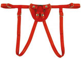 Dildo Harness - rot