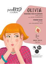 Maschera Viso Bio kelly Pelle grassa - PuroBio Cosmetics