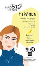 Maschera Viso Bio Miranda Pelle grassa - PuroBio Cosmetics