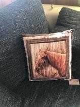 Kissen Pferdekopf ca. 28x30cm