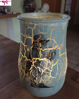 Teelichthalter mit Liebespaar