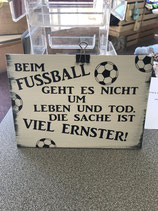 Fussball Schild
