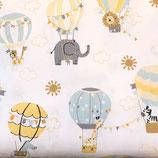 Weiß / Heißluftballons