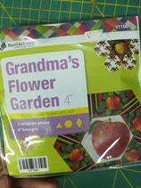 Matilda's Own - Grandma's flower garden (4 pollici) - set da 3 pezzi