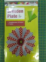 Matilda's Own - Dresden Plate (8 pollici) - set da 2 pezzi