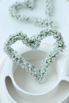 Schleierkraut Herz (Kunstblume)