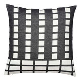 KRISTINA DAM Kissenbezug schwarz mit Muster (2 Größen)