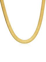 ICRUSH Kette Magic Sleek (gold)